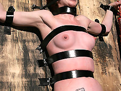 Pain Pictures -  Hogtied, Hooked, Strapped and Fucked