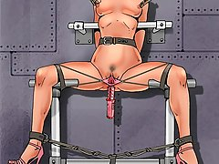 BDSM Art Pictures -  The guests of the torture room