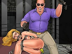 Cartoons Pictures -  Hottest prisoners of Bruce Bond's basement