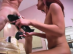 Punishment Pictures -  Dahlia delivers screams of pain instead of moans of joy when she delivers her brutal blowjob