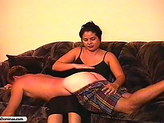 Punishment Pictures -  Pissed off bitch punishes her boyfriend