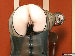 Fetish Pictures -  Hot slut Emily in tight latex gear