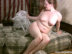 Fetish Pictures -  Plastic Wrap Bondage